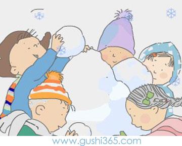 小雪人多多