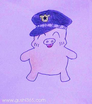 宝贝猪当警察