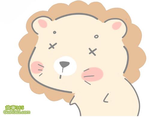 看望小獅子