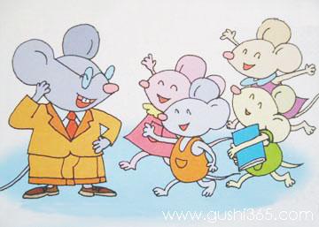 鼠爸爸和鼠儿子逛街