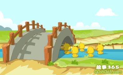 门前大桥下游过一群鸭,快来快来数一数,二四六七八