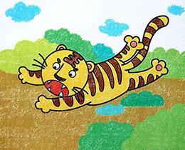 山里来了一个大老虎
