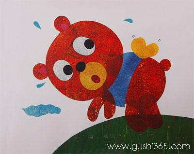 想飞的小熊