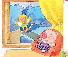 小瓷猪(图片故事)
