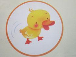 小黄鸭学走路