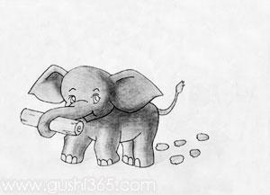 大象的脚印