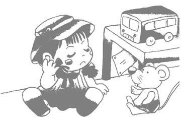 大头娃娃和布丁鼠