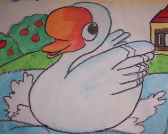 大白鹅妈妈和西瓜蛋