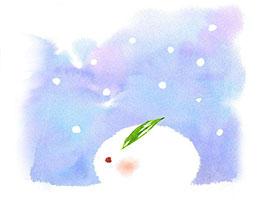 乖乖兔:雪花的样子