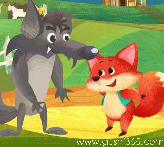小松鼠和狐狸