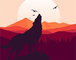 猎人·狼·狗