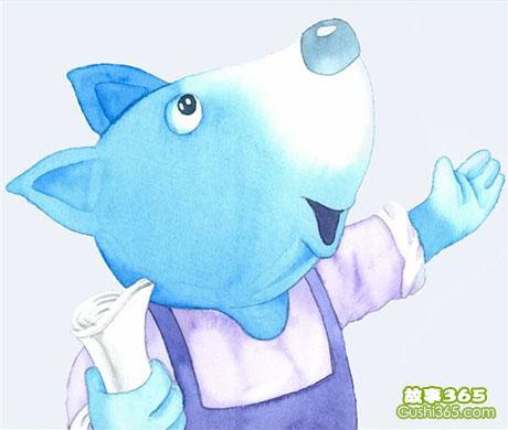 蓝狐狸:遇到一只坏脾气的熊