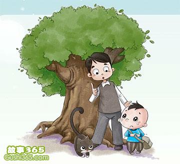 妈妈变成了一棵树