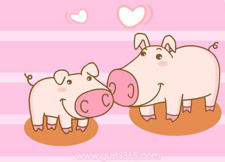 胖小猪和他的妈妈