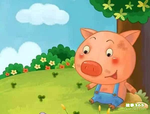 故事:胖小猪洗澡
