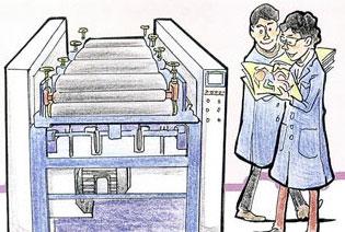 彩色圖畫書是怎樣印出來的