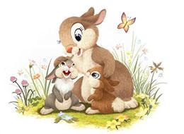 小兔子乖乖 把门开开