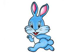 聪明勇敢意志坚定的兔子