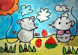 变成云彩的小老鼠