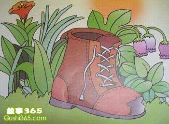 小猴子的破皮鞋