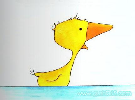 可爱的小鹅