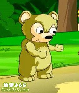 不讲礼貌的小狗熊
