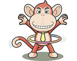小猴大力士