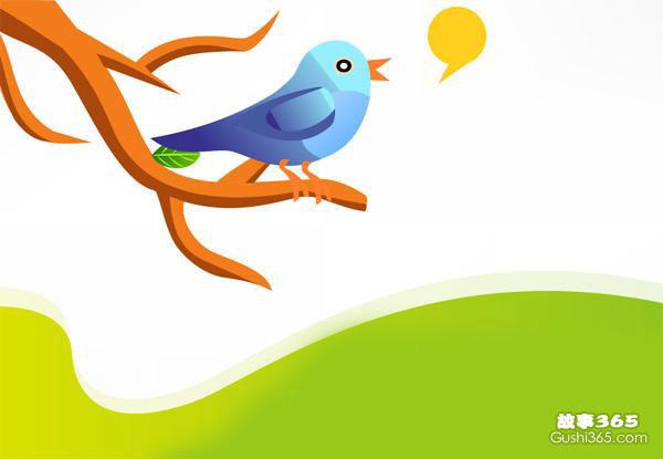 小鸟的歌声(微童话)
