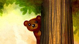 小棕熊的面具