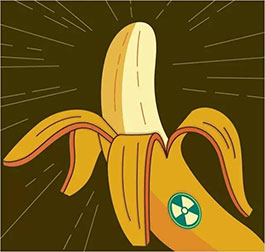 """香蕉也有辐射...啥是""""香蕉辐射""""?"""