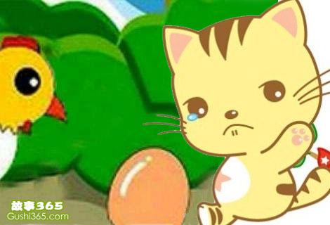 一只想生鸡蛋的猫
