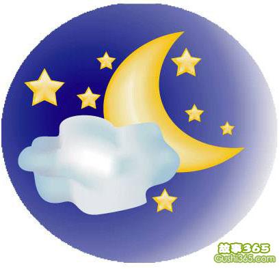 月亮和星星的童话