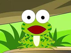 勇敢的小青蛙