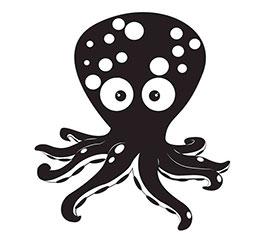 勇敢的小章魚