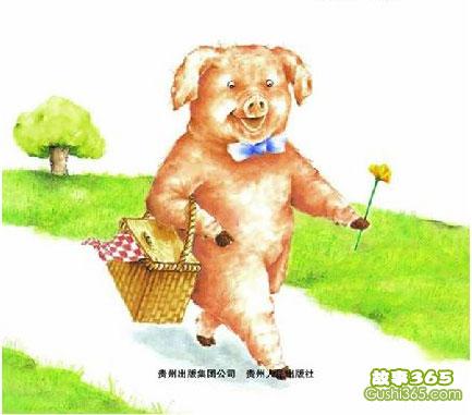 猪先生去野餐