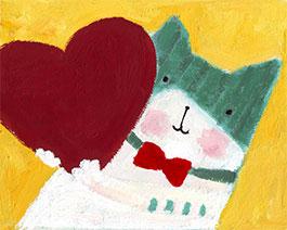 一只被爱包围的小猫
