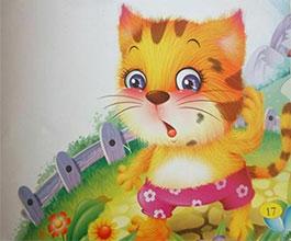 不洗脸的小猫