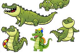 只有一条鳄鱼愿意