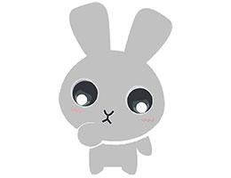 小灰兔看家