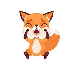 小狐狸哭了