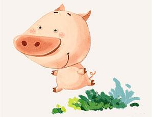 小懒猪变勤劳了