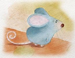小老鼠丢丢 暴风雨来了