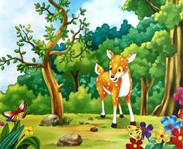 小鹿找朋友