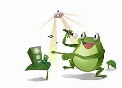 青蛙呱呱呱