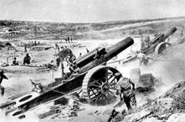 一战:法国小兵歪打正着摧毁敌方弹药库