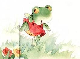 穿紅裙�的��蛙