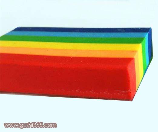 神奇的彩虹橡皮
