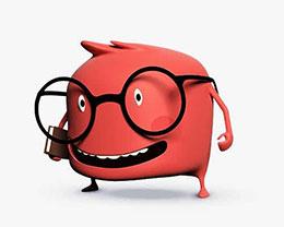 戴眼镜的怪兽