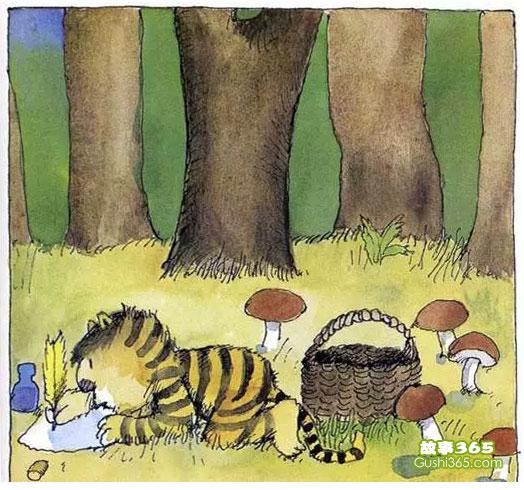 给你的朋友写一封信_给小老虎的信 - 故事绘本 - 故事365