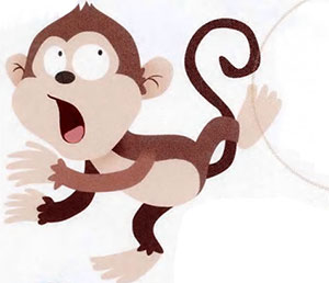 固執的小猴